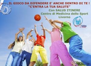 Poster lancio Centra la tua salute